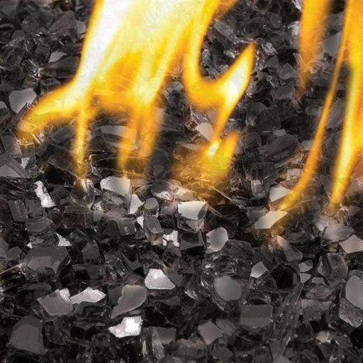 Replacement Onyx Crushed Glass For Gas Fire Pit Tables - 7KG