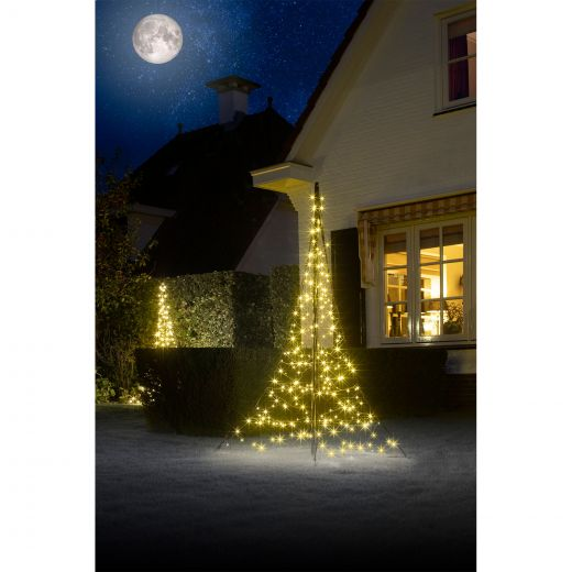 Fairybell - 2m All Surface LED Tree - 240 Warm White