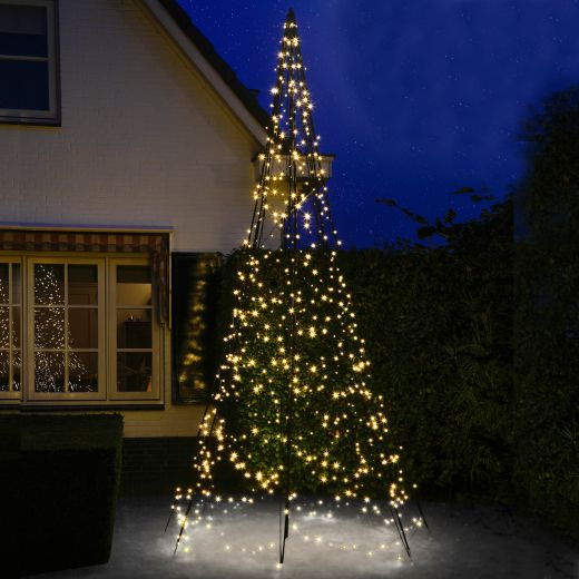 Fairybell 4m 640 Warm White LED Outdoor Christmas Tree