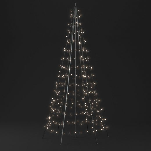 Twinkly 2m 300 Multi Colour & White LED Outdoor Christmas Tree