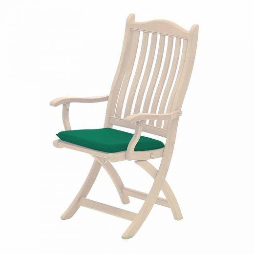 Acrylic Seat Pad Cushion - Green