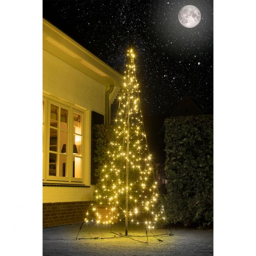 Fairybell 3m 320 Warm White All-Surface LED Outdoor Christmas Tree