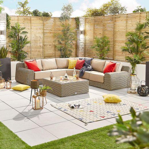 Luxor 2A Corner Sofa Set - Willow