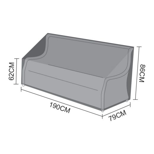 Cover for Oyster 3 Seater Sofa