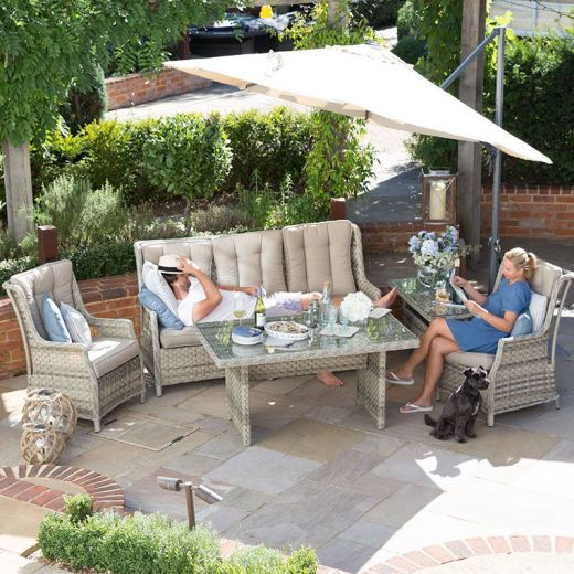 Oyster Casual Dining 3 Seater Sofa Set