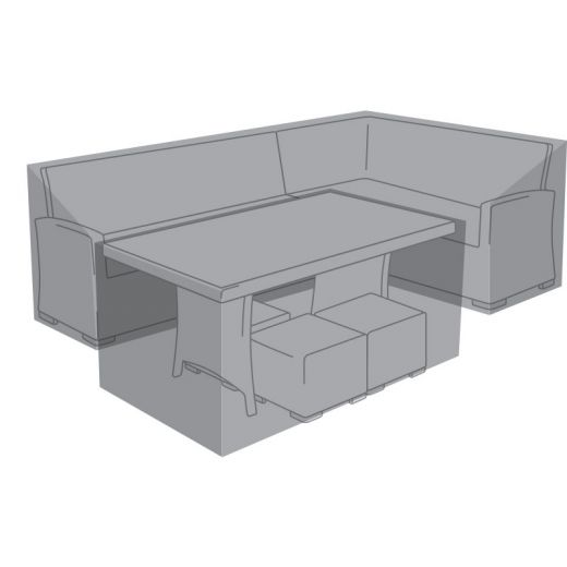Cover Pack For Right Hand L-Shaped Cambridge Corner Dining Set
