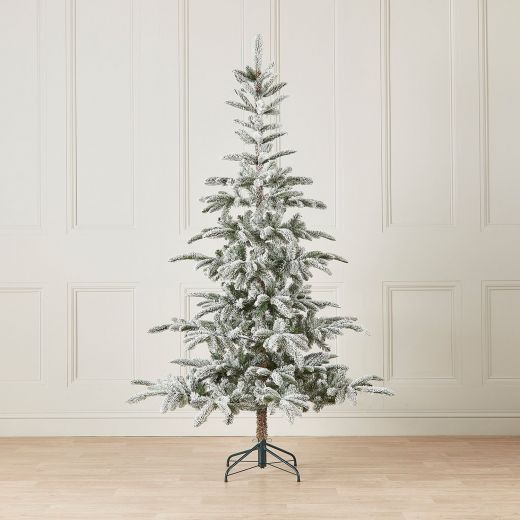 5ft Snowy Nobilis Fir Artificial Christmas Tree