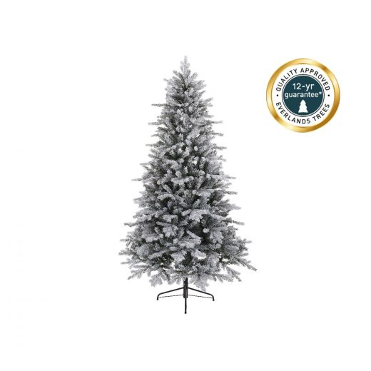 Kaemingk Everlands - 5ft Frosted Vermont Spruce Artificial Christmas Tree