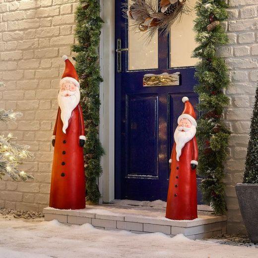 The Father Christmas Mixed Santa Duo
