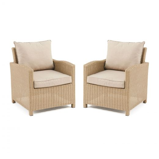 Pair Of Ciara Armchairs - Willow