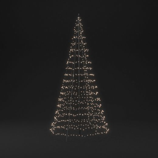 Twinkly 4m 750 Multi Colour & White LED Outdoor Christmas Tree