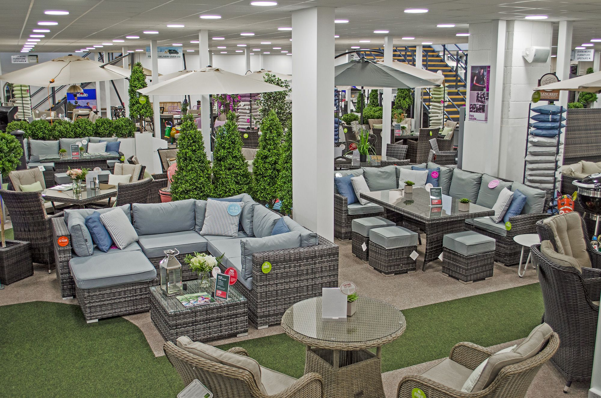 Rattan garden furniture essex visit our showroom