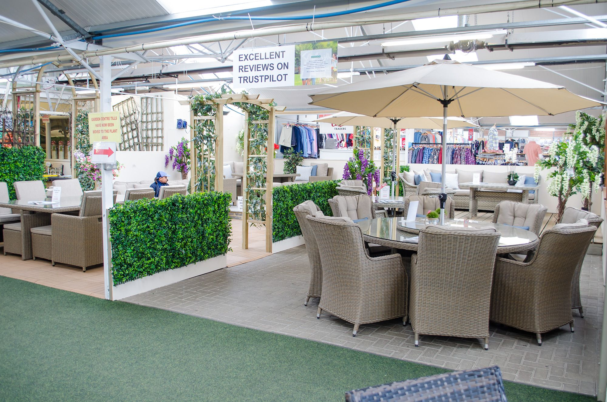 Garden Centre: Rattan Garden Furniture Enfield