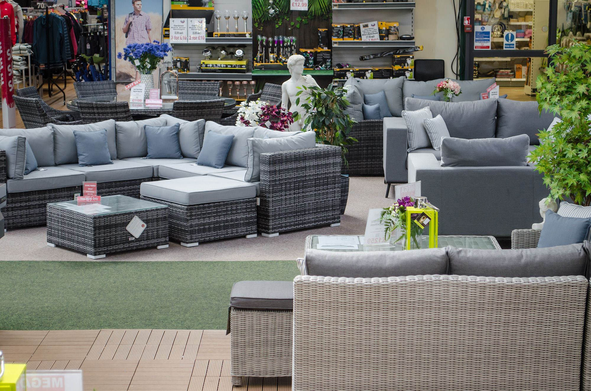 Rattan Garden Furniture Enfield - Visit Our Showroom